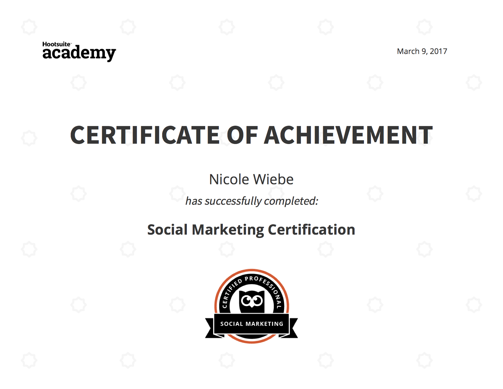 Education digital marketing foundation certificate red academy pctia accredited xflitez Choice Image